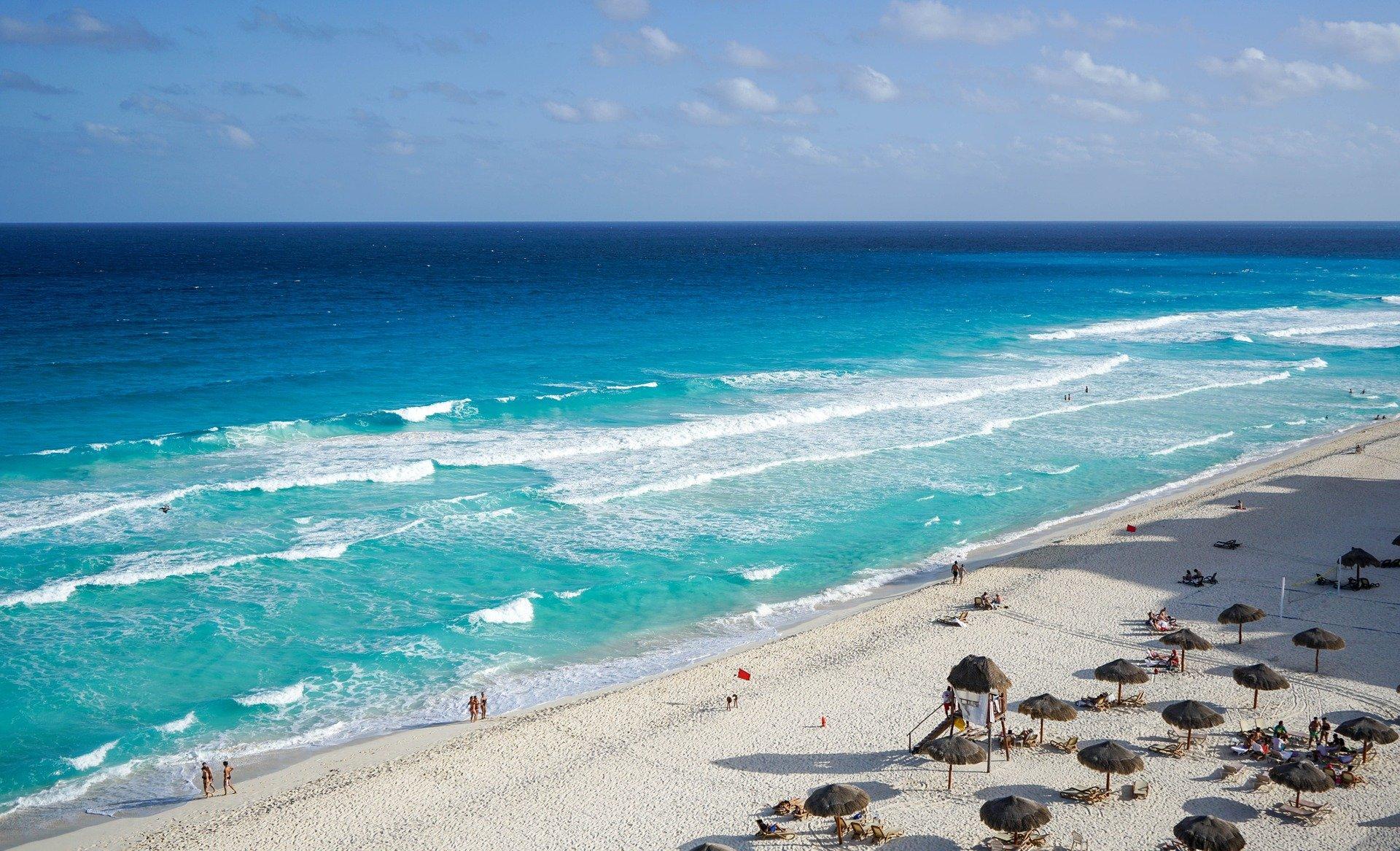 melhores lugares para viajar na América Latina: Cancún
