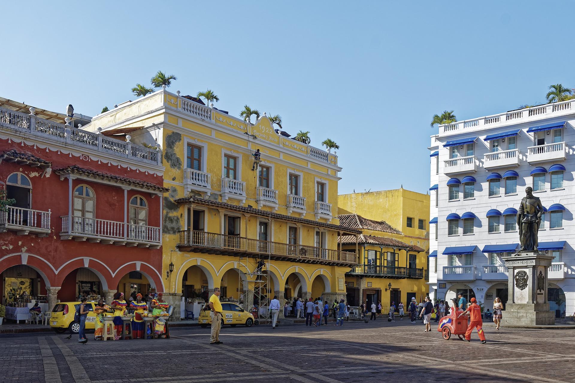 melhores lugares para viajar na América Latina: Cartagena das Índias