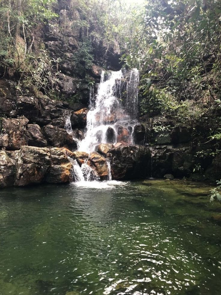 Melhores Cachoeiras da Chapada dos Veadeiros: Louquinhas