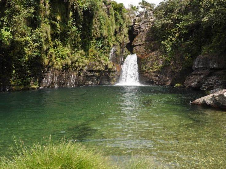 Melhores Cachoeiras da Chapada dos Veadeiros: Cachoeira do prata